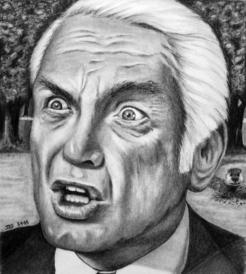 Stars portraits portrait of ted knight by jrfortson